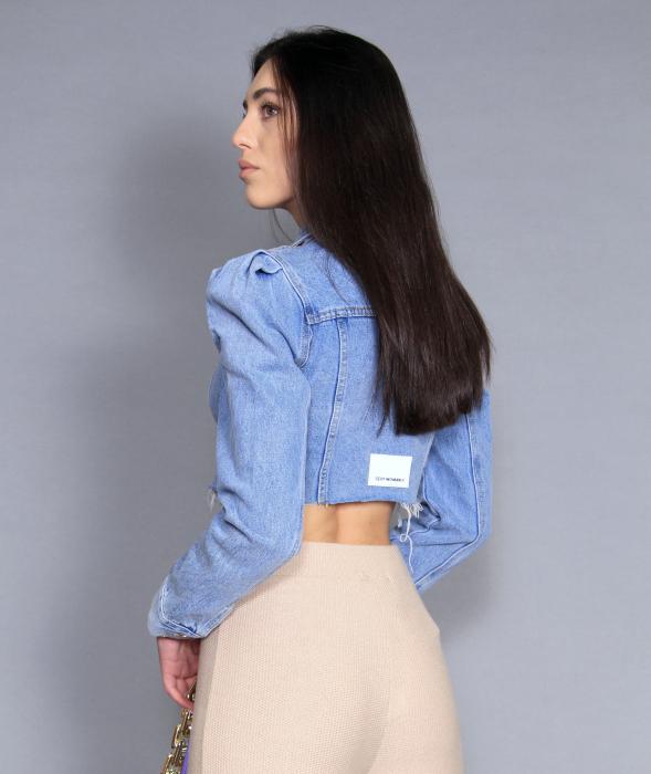 Jacheta jeans cu pantaloni 5