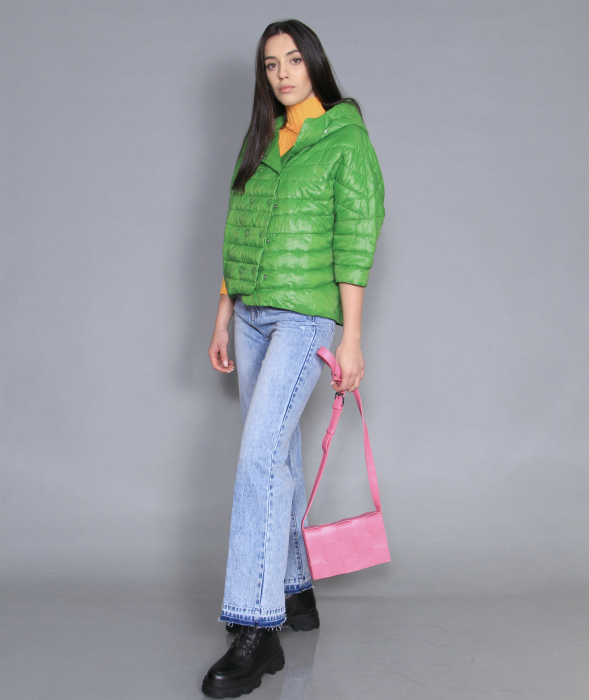 Geaca de fas, jeans si bluza [1]