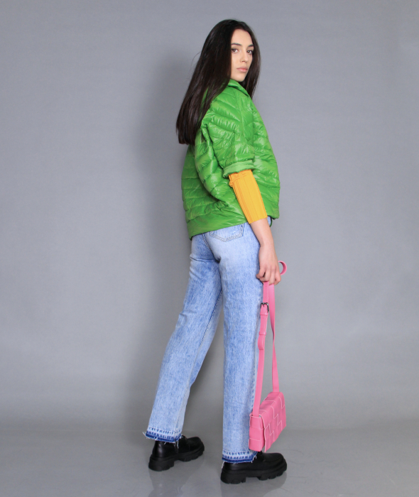 Geaca de fas, jeans si bluza [3]