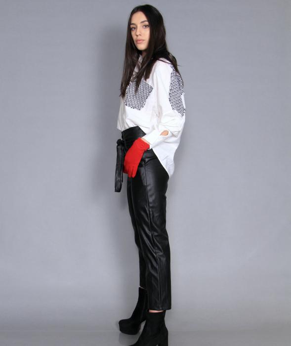 Geaca cu paiete, camasa si pantaloni . [4]