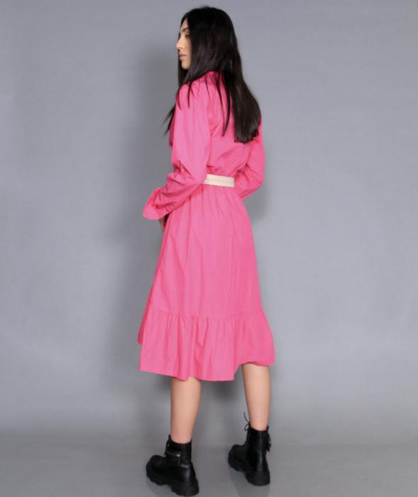 Jacheta jeans si rochie lunga. 5