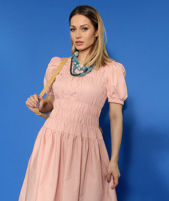 Rochie lunga cu elastic talie. [5]