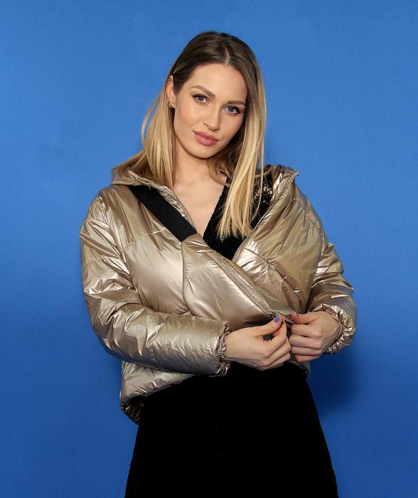 Jacheta fas cu accesoriu borseta, rochie din dantela. [0]