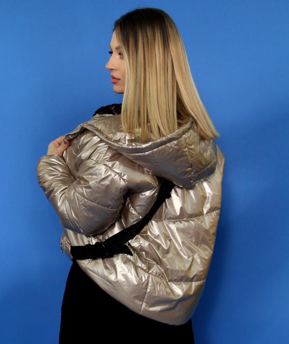 Jacheta fas cu accesoriu borseta, rochie din dantela. [2]