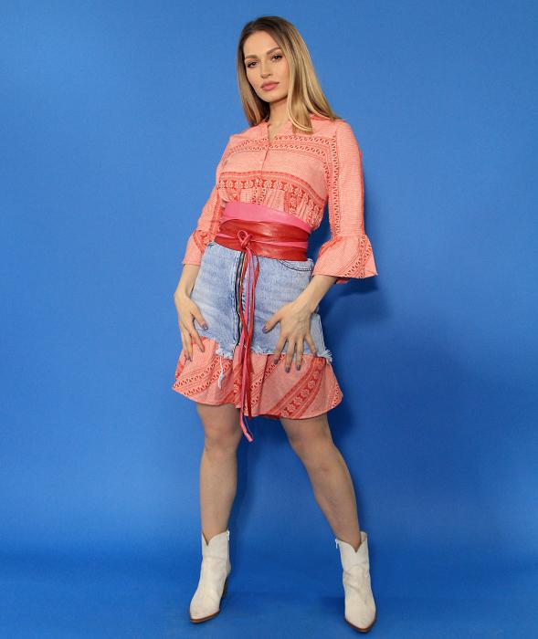 Rochie si fusta din denim. [1]