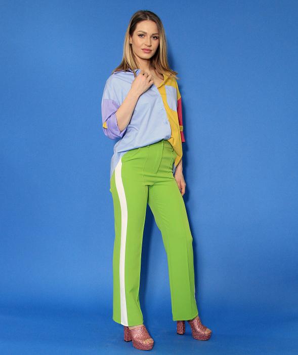 Camasa culori diferite si pantaloni lungi. 1