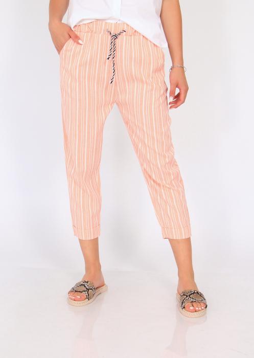 Pantaloni cu dungi fine 7
