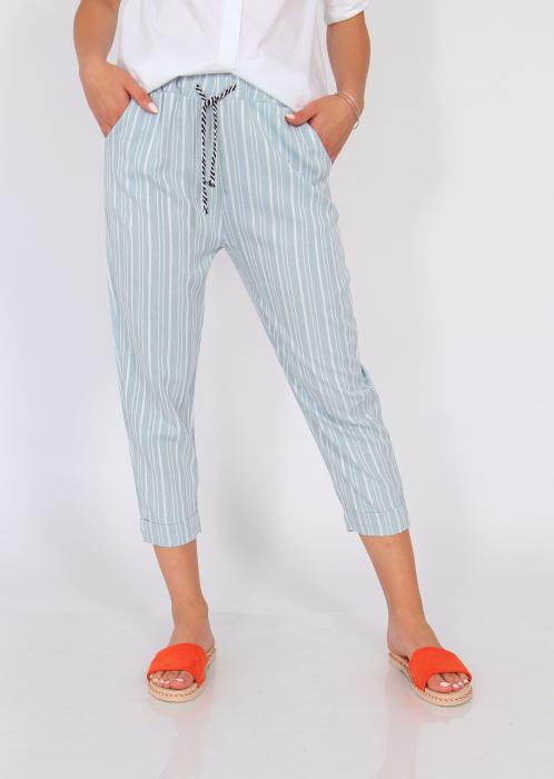 Pantaloni cu dungi fine 6