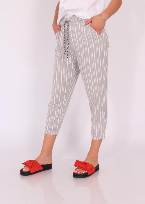 Pantaloni cu dungi fine 5