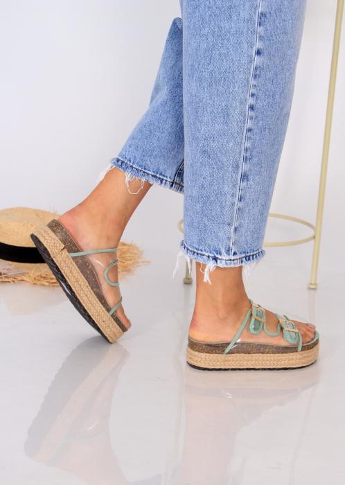 Papuci platforma inalta 5