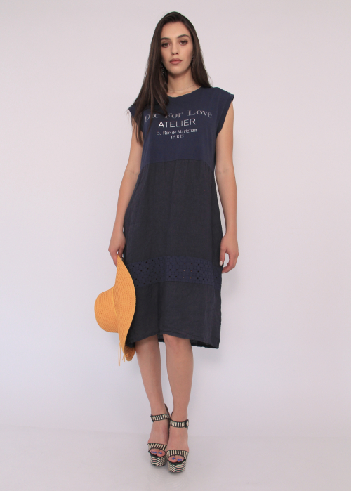 Rochie in si bumbac 2