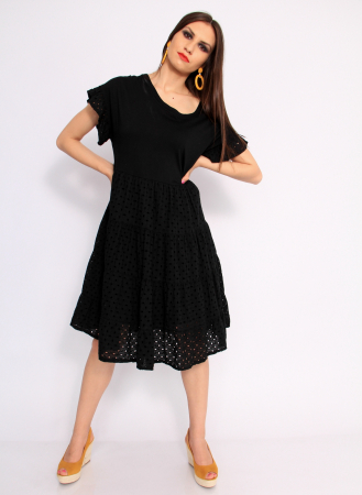 Rochie lunga din broderie8