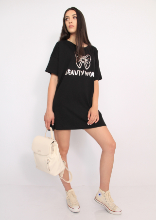 Bluza tip rochie casual2