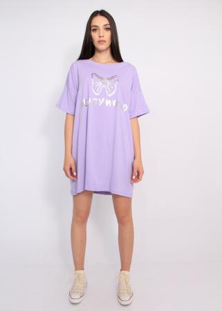 Bluza tip rochie casual1