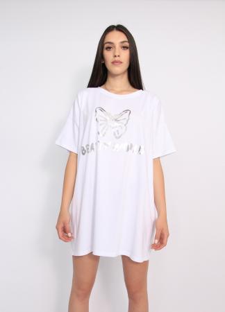 Bluza tip rochie casual0