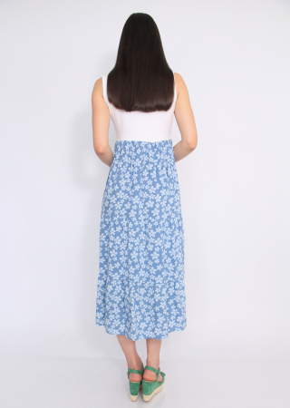 Rochie blue flowers4