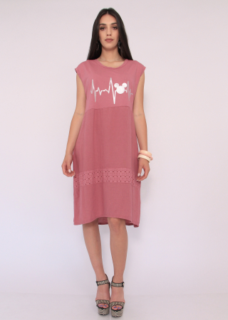 Rochie in si bumbac0