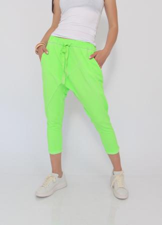 Pantaloni neon cu tur1