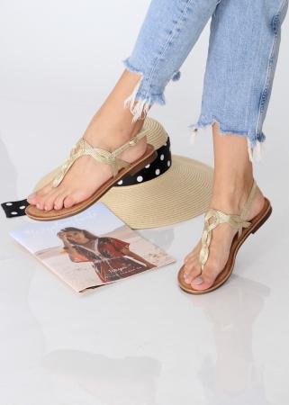 Sandale cu bareta intre degete7