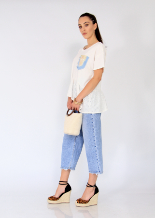 Bluza buzunar jeans aplicat.0