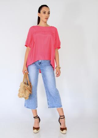 Bluza asimetrica,elastic maneca.0