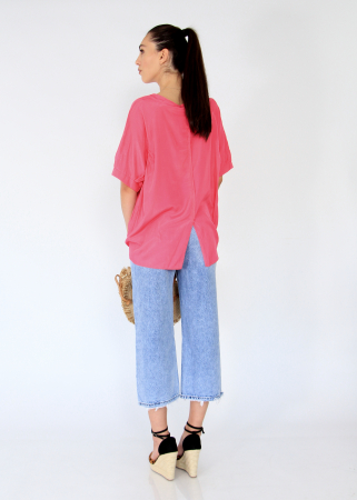 Bluza asimetrica,elastic maneca.3