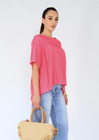 Bluza asimetrica,elastic maneca.4