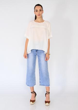 Bluza asimetrica,elastic maneca.5