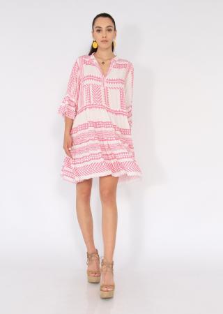 Rochie cu tunica motive etno0