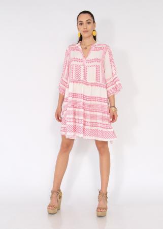 Rochie cu tunica motive etno1