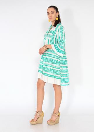 Rochie cu tunica motive etno4