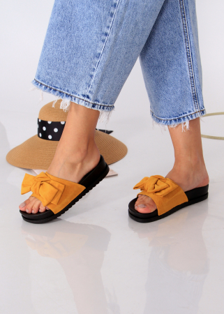 Papuci funda piele intoarsa1