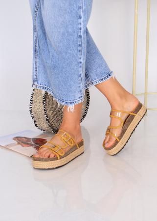 Papuci platforma inalta1
