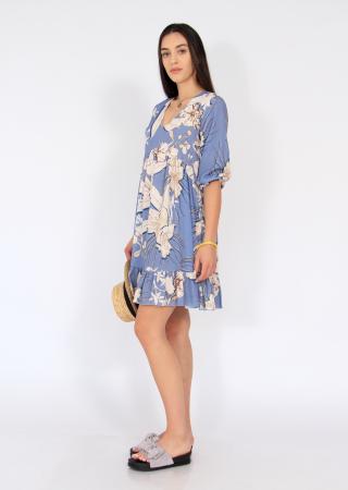 Rochie midi anchior print floral1