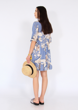 Rochie midi anchior print floral2