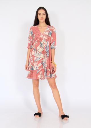 Rochie midi anchior print floral4