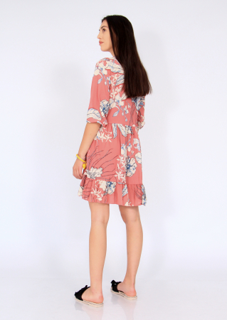 Rochie midi anchior print floral5