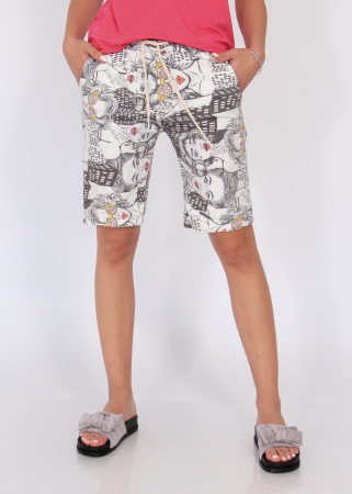 Pantaloni print desene2