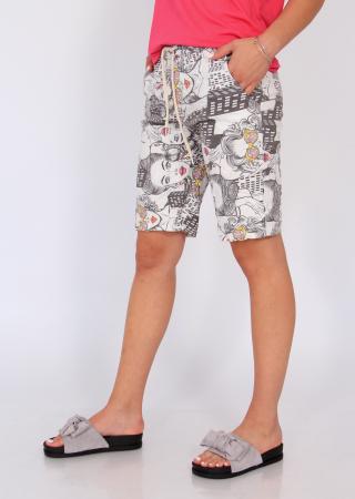 Pantaloni print desene3