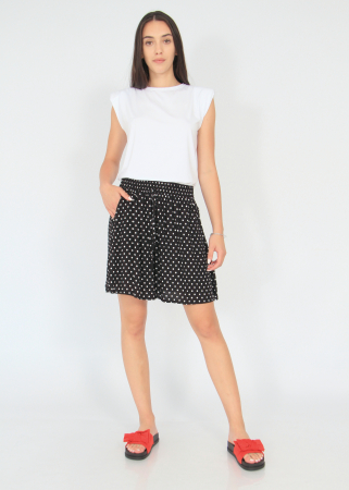 Pantaloni scurti elastic talie buline0