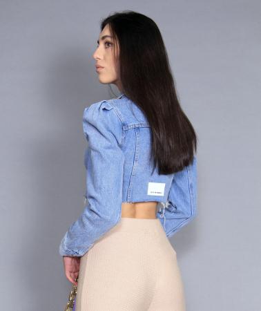 Jacheta jeans cu pantaloni5