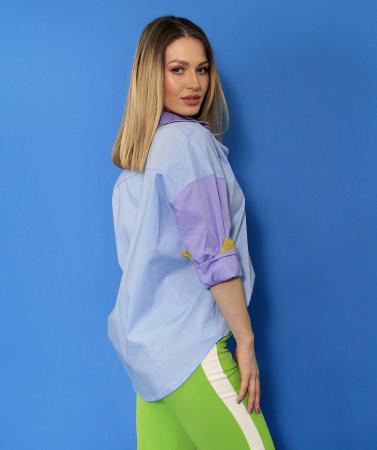 Camasa culori diferite si pantaloni lungi.2