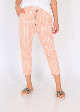Pantaloni cu dungi fine7