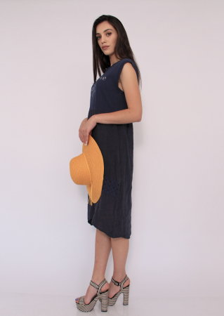 Rochie in si bumbac1