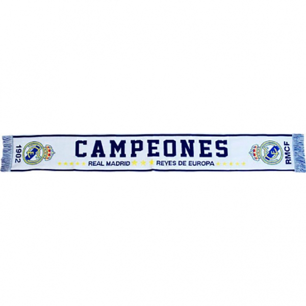Fular Real Madrid Campeones, adult, 140cm 0