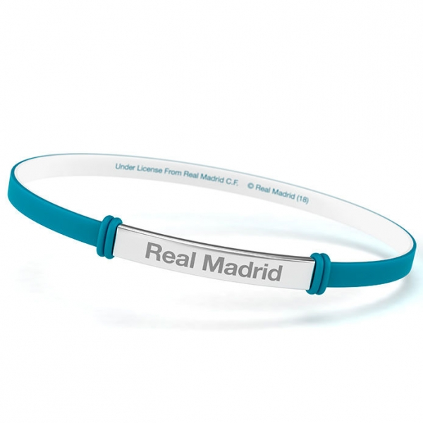 Bratara fashion Real Madrid, albastru, junior 0