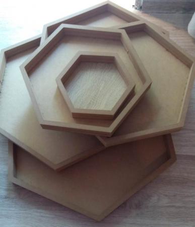 Rama hexagon inalta [0]
