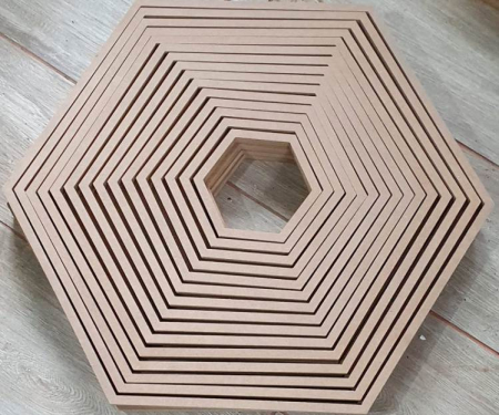 Rama hexagon inalta [1]