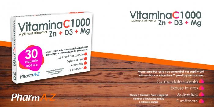 Vitamina C 1000 Zn + D3 + Mg [0]