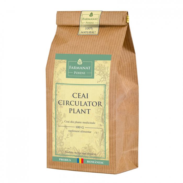 Ceai circulator-plant (pentru afectiuni circulatorii, arterita, varice) - 100g [0]